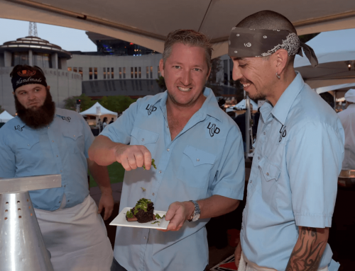 """Eater Dallas featured GRAFEIO in """"Chef Tim Love's Popular Pop-Up Series Returns With a Greek Theme."""""""