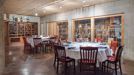 "Lonesome Dove featured in Wine Spectator's article ""11 Wine Stars in the Lone Star State."""